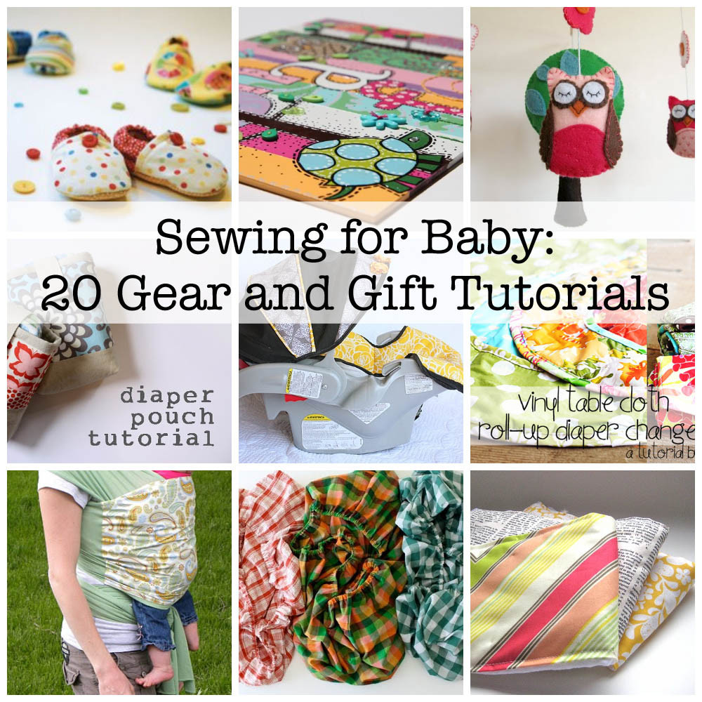 Best ideas about DIY Baby Crafts . Save or Pin Sewing for Baby 20 Great Gear Tutorials and Patterns Now.