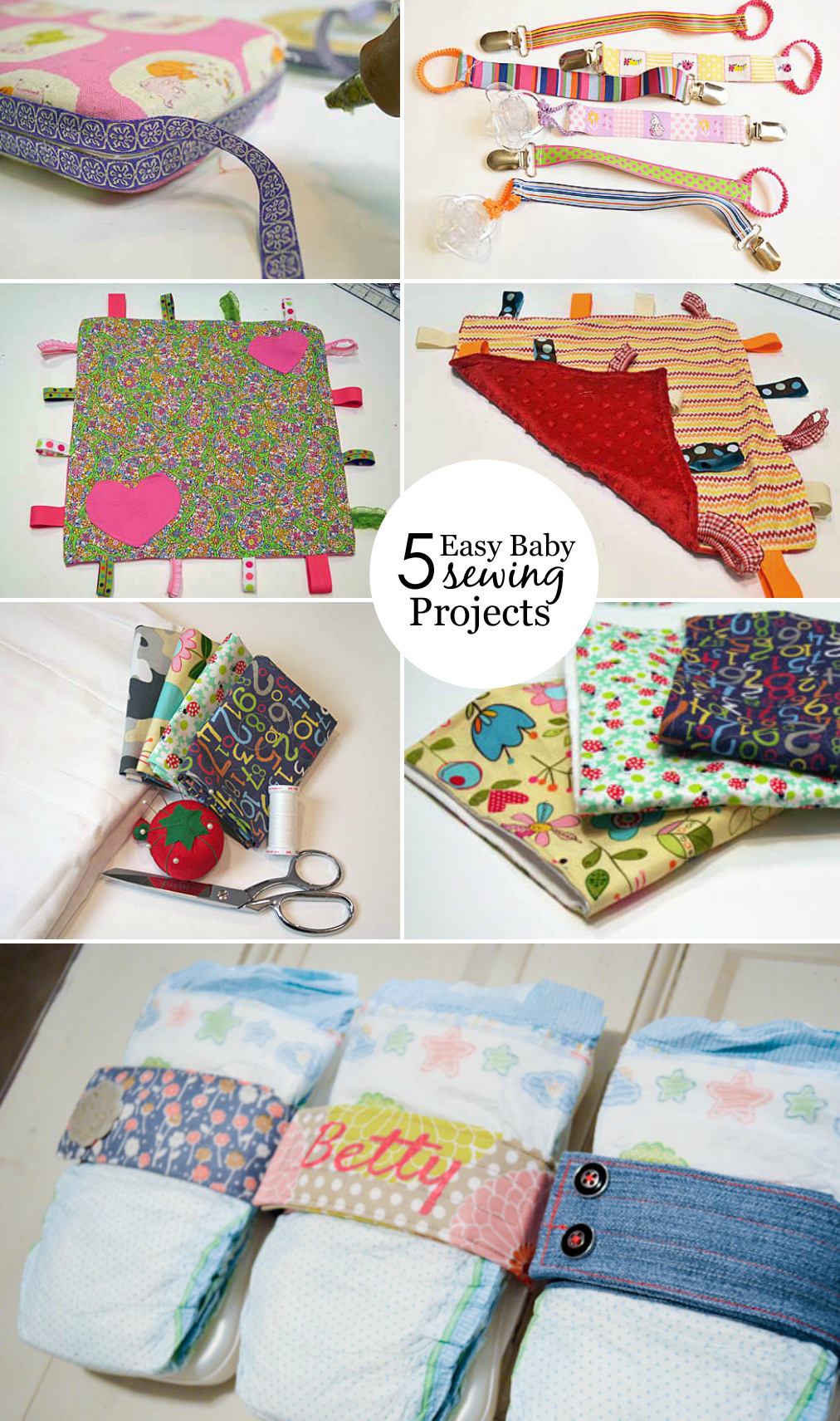 Best ideas about DIY Baby Crafts . Save or Pin Easy Baby Sewing Projects Project Nursery Now.
