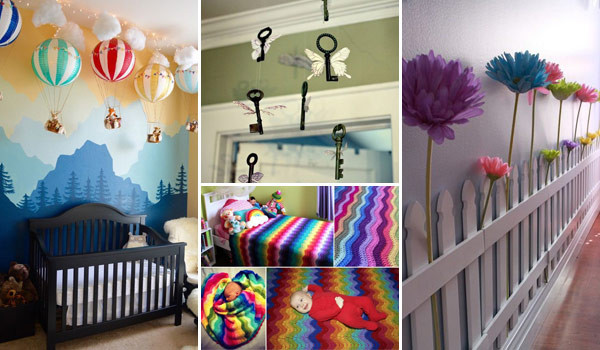 Best ideas about DIY Baby Decor . Save or Pin Awesome DIY Ideas To Decorate a Baby Nursery Now.