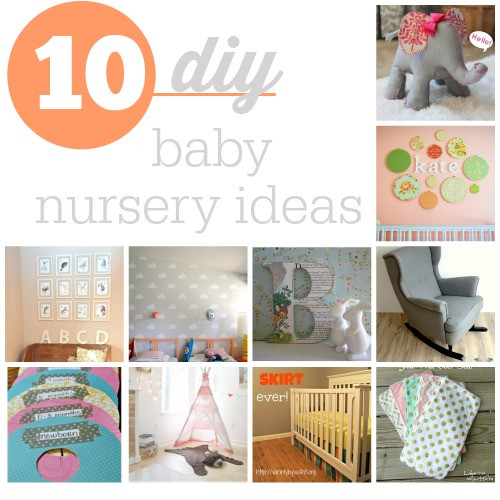 Best ideas about DIY Baby Decor . Save or Pin Top 10 DIY Baby Nursery Ideas Southern Savers Now.