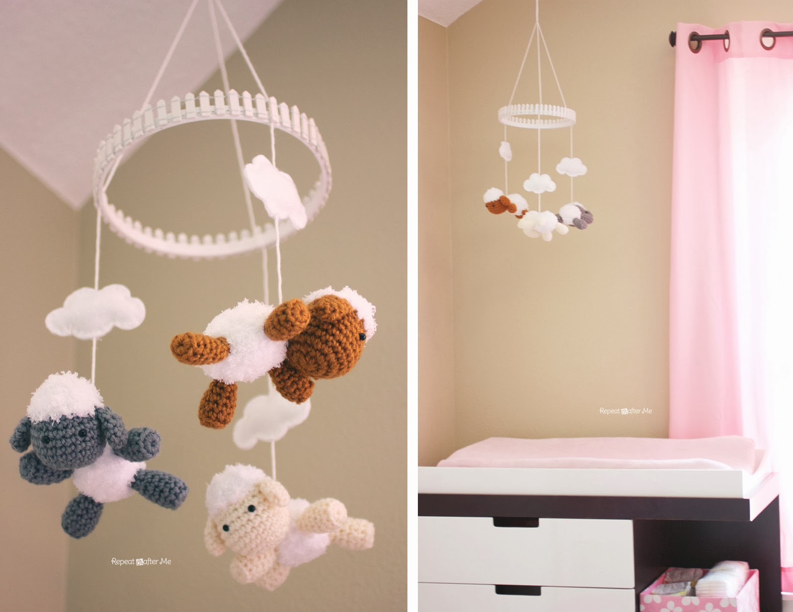 Best ideas about DIY Baby Decor . Save or Pin Baby Girl Nursery DIY decorating ideas Repeat Crafter Me Now.