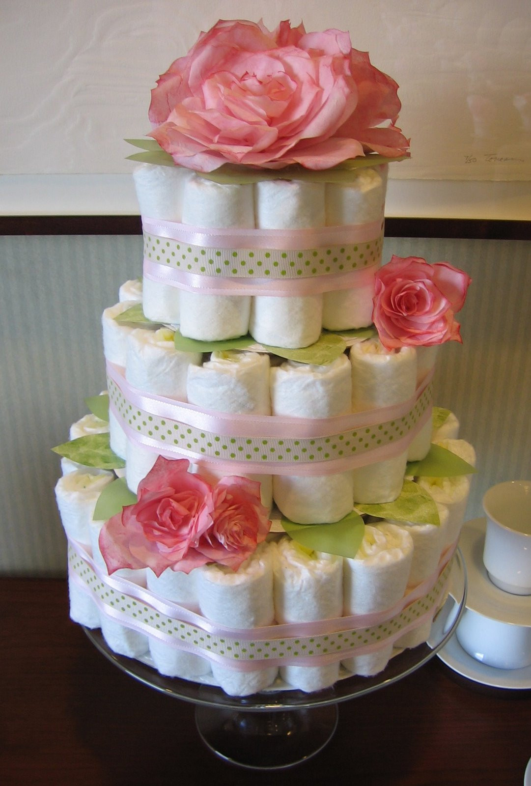 Best ideas about DIY Baby Diaper Cake . Save or Pin DIY Baby Shower Decor Ideas Now.