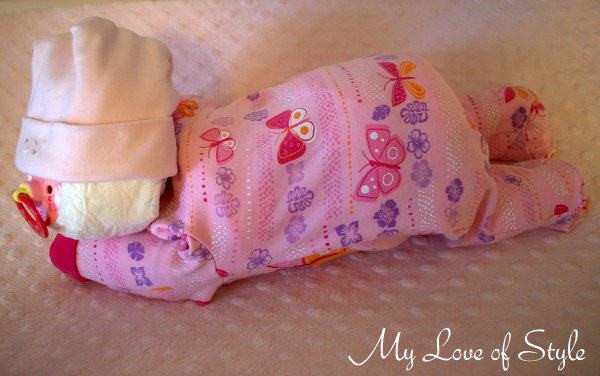 Best ideas about DIY Baby Diaper Cake . Save or Pin DIY Sleeping Baby Diaper Cake Now.