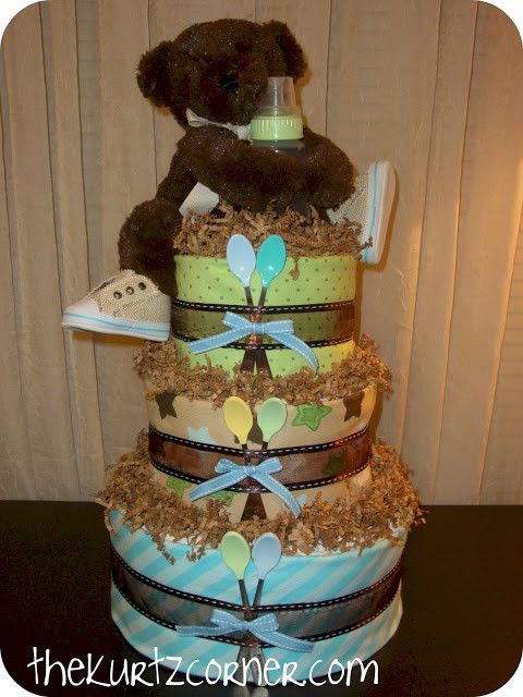 Best ideas about DIY Baby Diaper Cake . Save or Pin Diaper Cake Ideas for Baby Showers Design Dazzle Now.