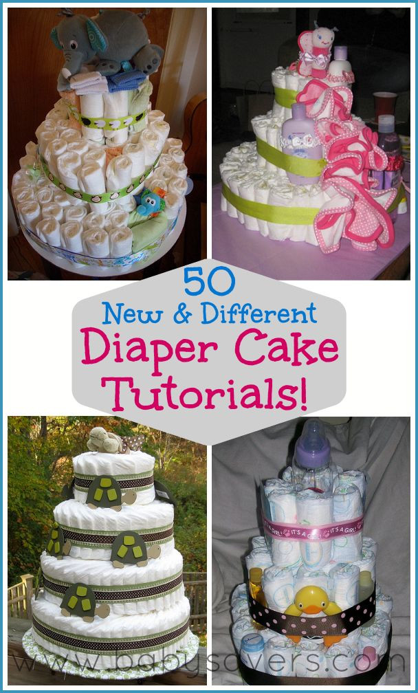 Best ideas about DIY Baby Diaper Cake . Save or Pin How to Make a Diaper Cake 50 DIY Diaper Cake Tutorials Now.