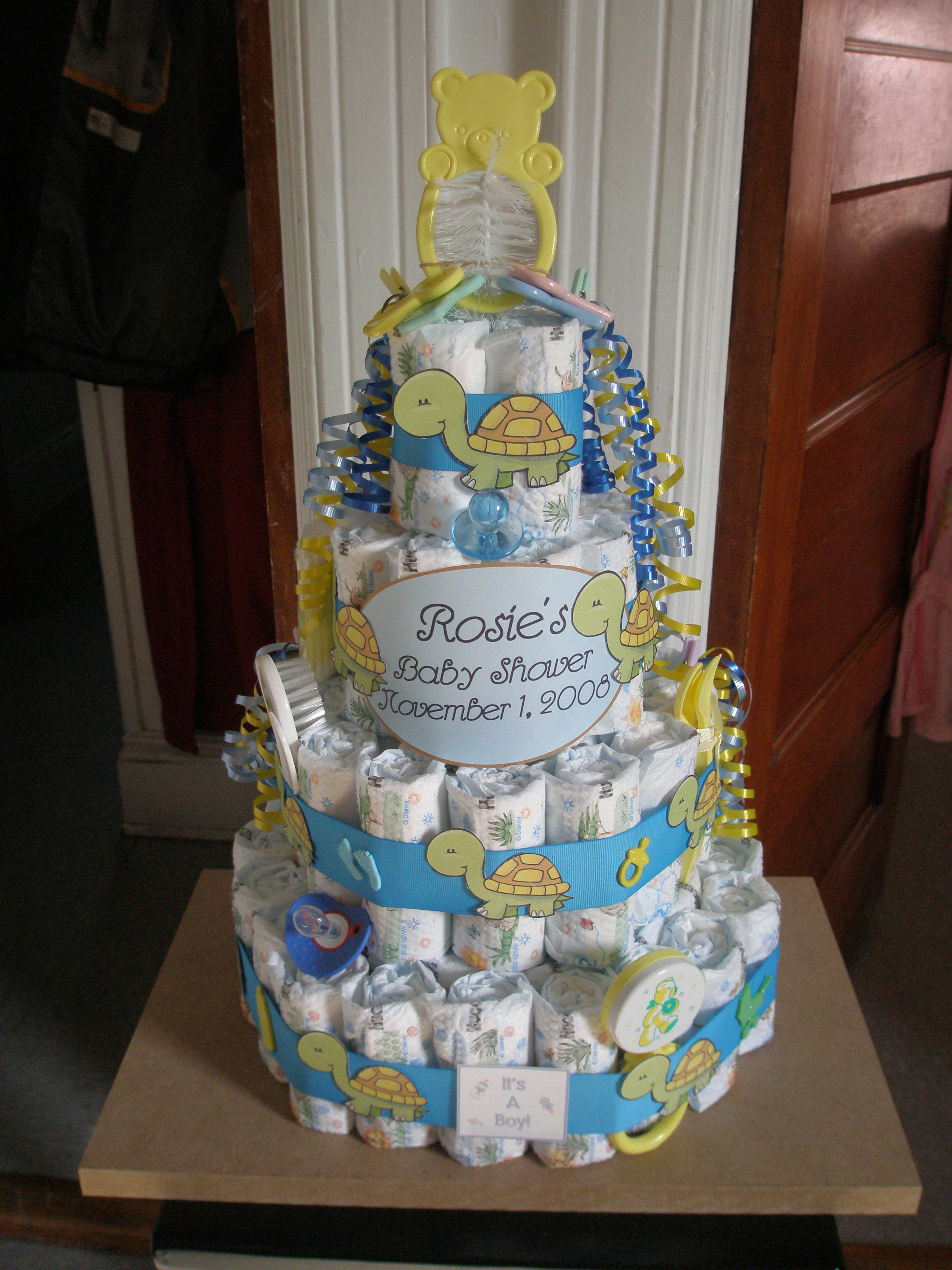 Best ideas about DIY Baby Diaper Cake . Save or Pin DIY Diaper Cakes Now.