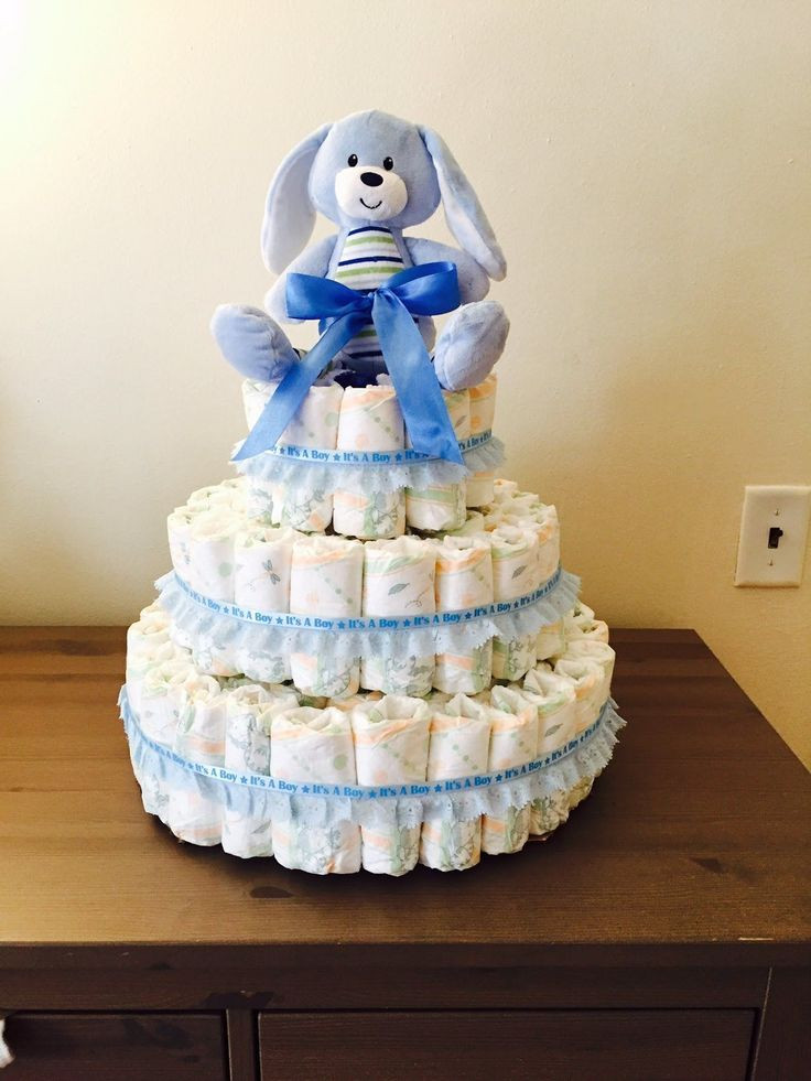 Best ideas about DIY Baby Diaper Cake . Save or Pin 1000 ideas about Diy Diaper Cake on Pinterest Now.