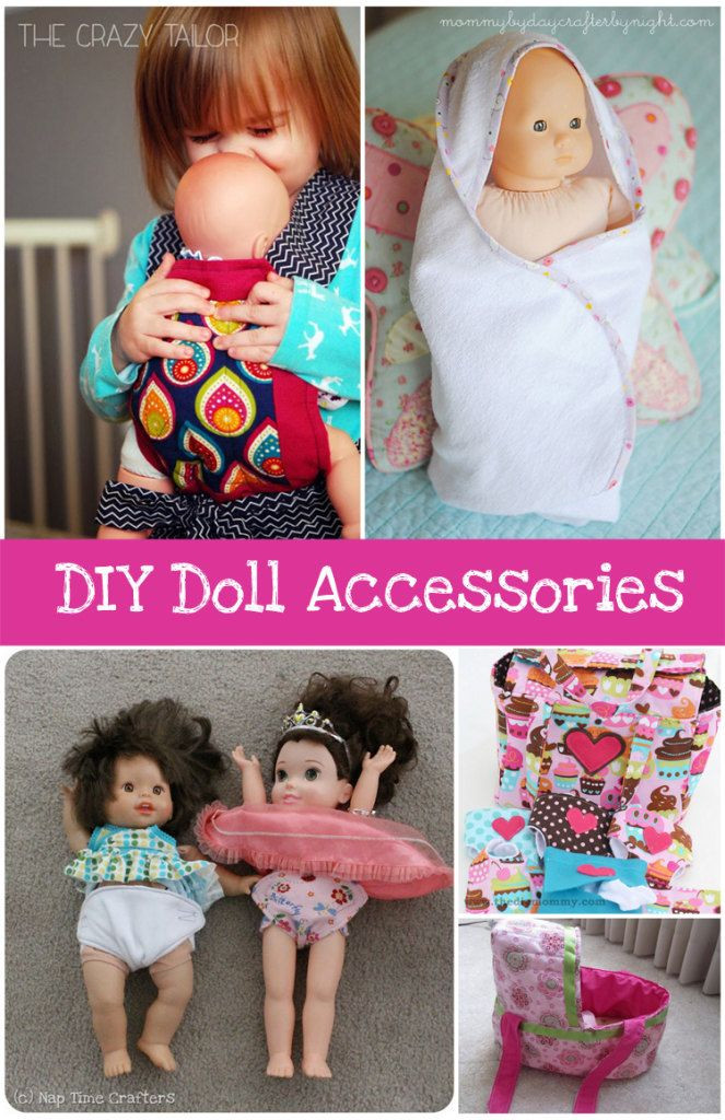Best ideas about DIY Baby Doll . Save or Pin DIY Baby Doll Accessories Round up Now.