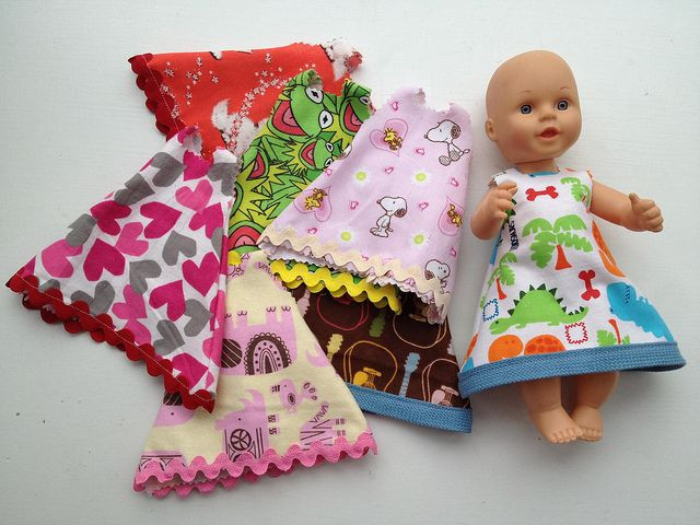 Best ideas about DIY Baby Doll . Save or Pin Project Fast DIY Doll Dress for Small Dolls Now.