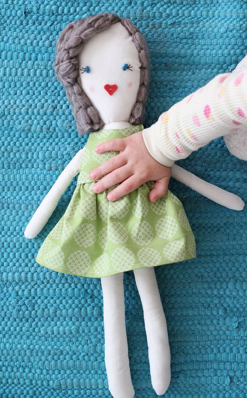 Best ideas about DIY Baby Doll . Save or Pin Traditional Rag Doll DIY – A Beautiful Mess Now.