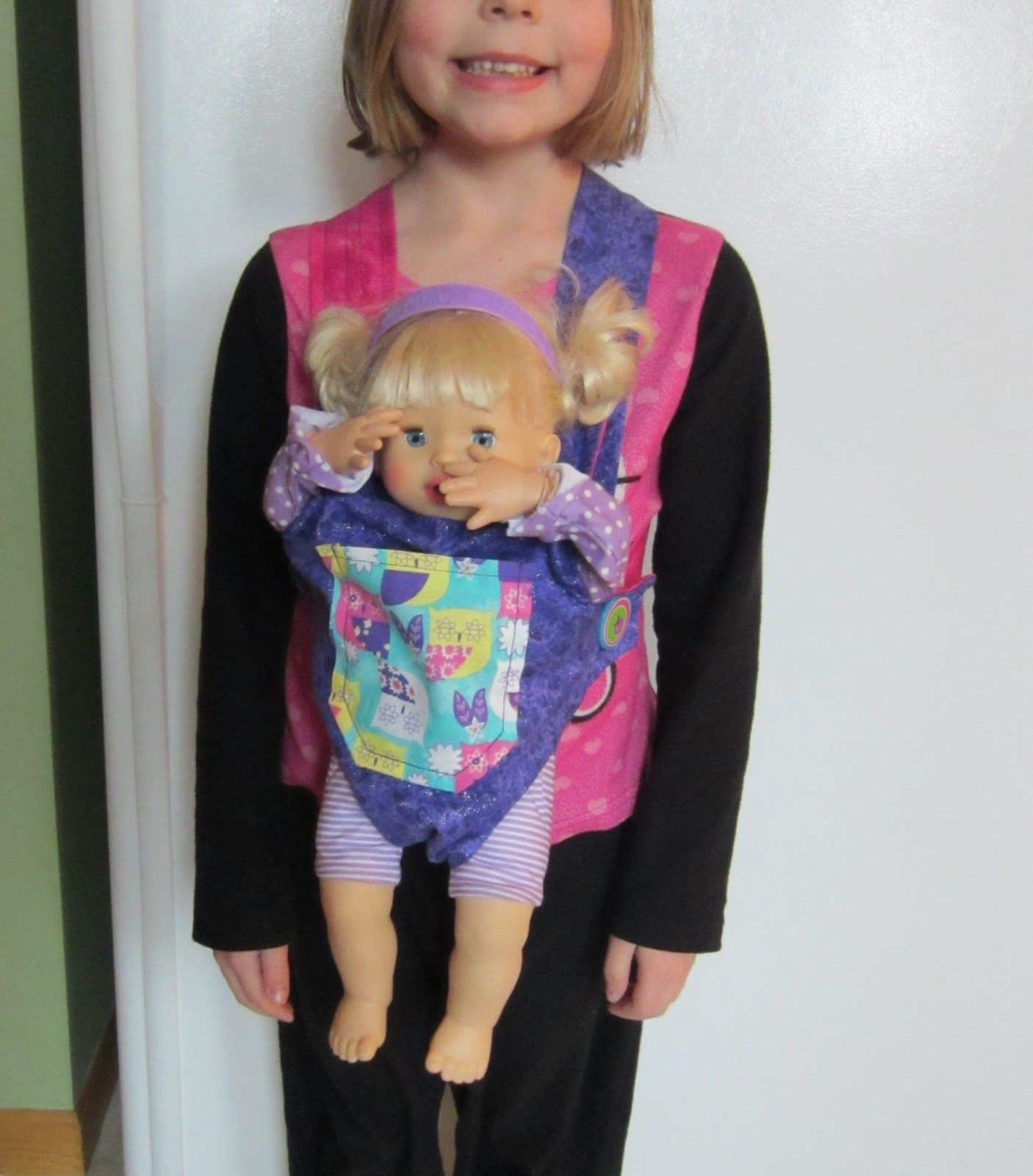 Best ideas about DIY Baby Doll Carrier . Save or Pin DIY doll carrier Crafts DIY Now.