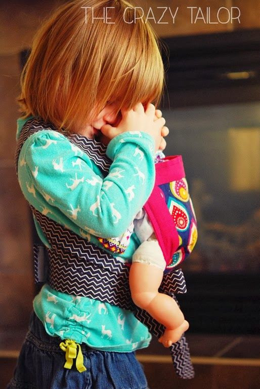Best ideas about DIY Baby Doll Carrier . Save or Pin Kids doll carrier instructions Debbie Arruda Arruda Now.