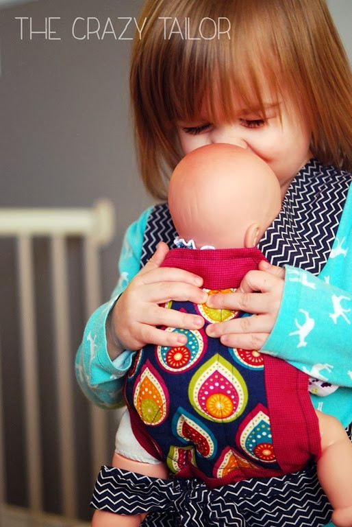 Best ideas about DIY Baby Doll Carrier . Save or Pin Ginger Snap Crafts Toddler Baby Doll Carrier from The Now.