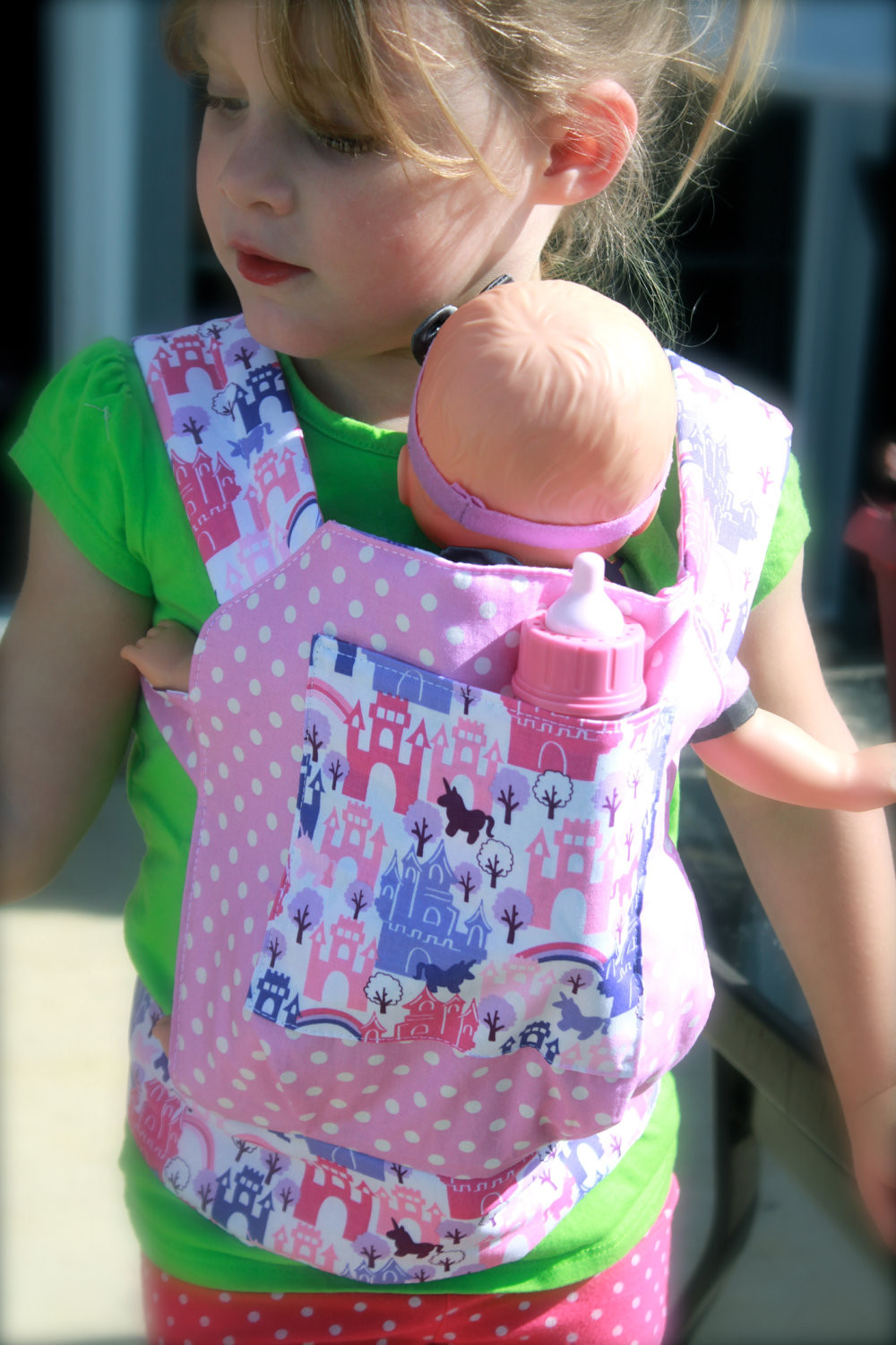 Best ideas about DIY Baby Doll Carrier . Save or Pin IRAA SOLO It is interesting Now.
