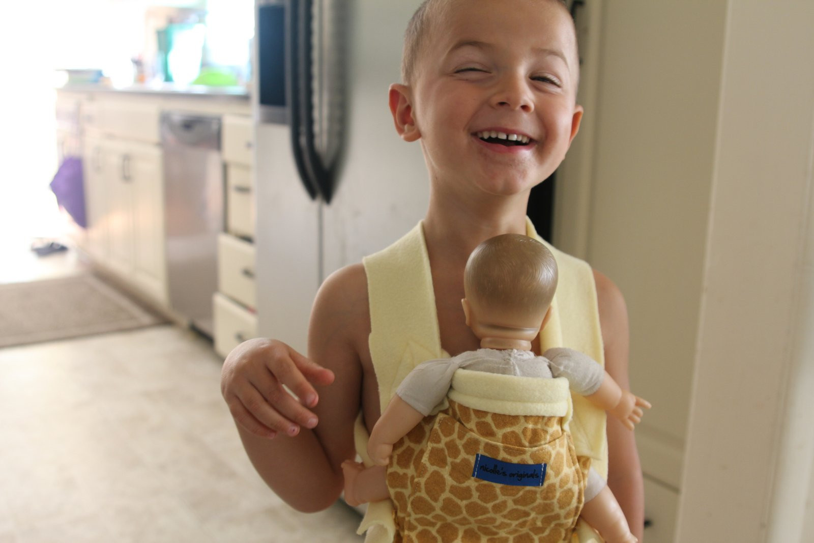 Best ideas about DIY Baby Doll Carrier . Save or Pin Nicolle s Originals DIY Child s Ergo Baby Doll Carrier Now.