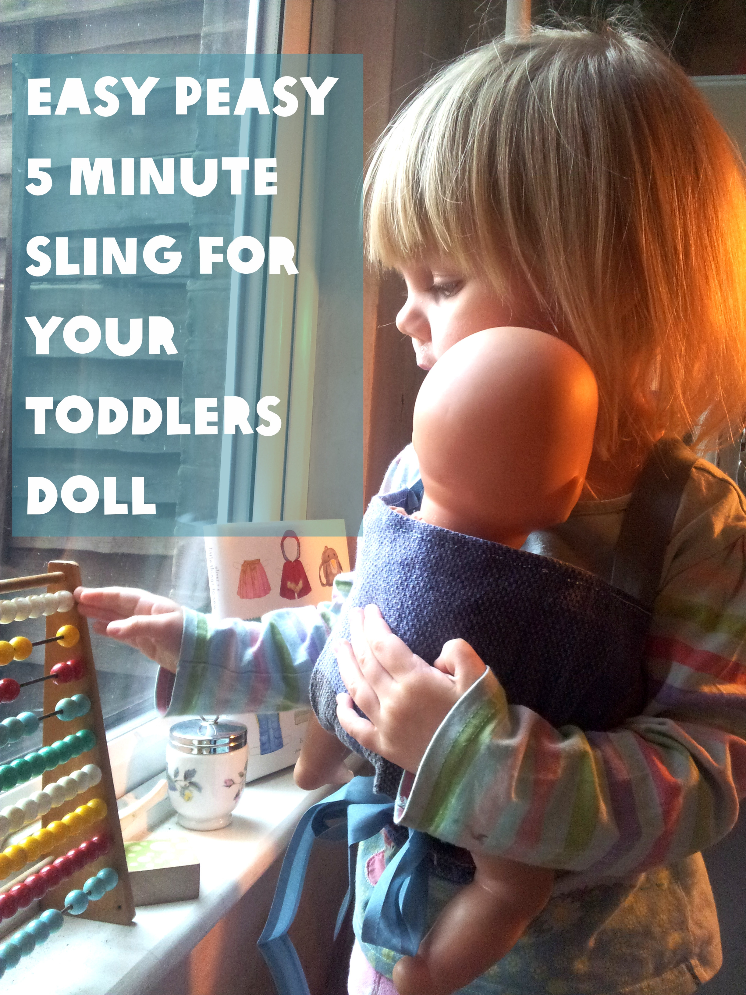 Best ideas about DIY Baby Doll Carrier . Save or Pin Easy Sling for Your Toddler s Doll Lulastic and the Now.