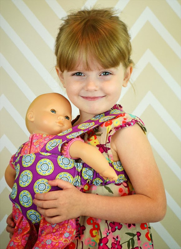 Best ideas about DIY Baby Doll Carrier . Save or Pin Create Kids Couture Doll Carrier and Makeover Videos Now.