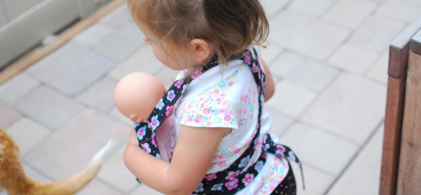 Best ideas about DIY Baby Doll Carrier . Save or Pin DIY mini mei tai baby doll carrier The Art of Simple Now.