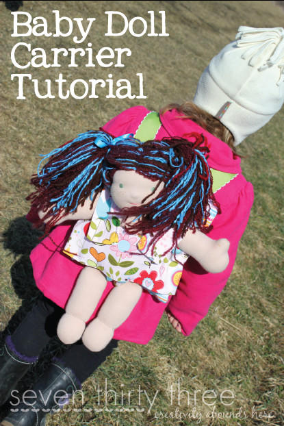Best ideas about DIY Baby Doll Carrier . Save or Pin Gift Idea DIY Baby Doll Carrier The Peaceful Mom Now.