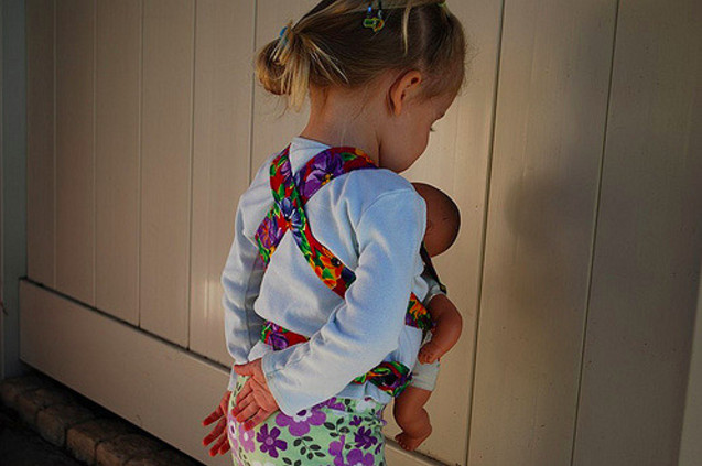 Best ideas about DIY Baby Doll Carrier . Save or Pin Sew a simple DIY baby doll carrier Now.
