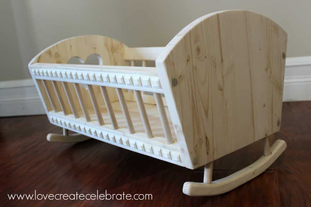 Best ideas about DIY Baby Doll Crib . Save or Pin Baby Doll s Crib Love Create Celebrate Now.