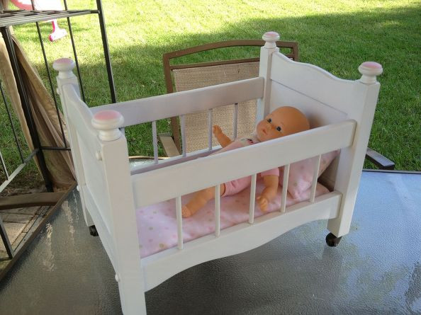 Best ideas about DIY Baby Doll Crib . Save or Pin Hometalk Now.