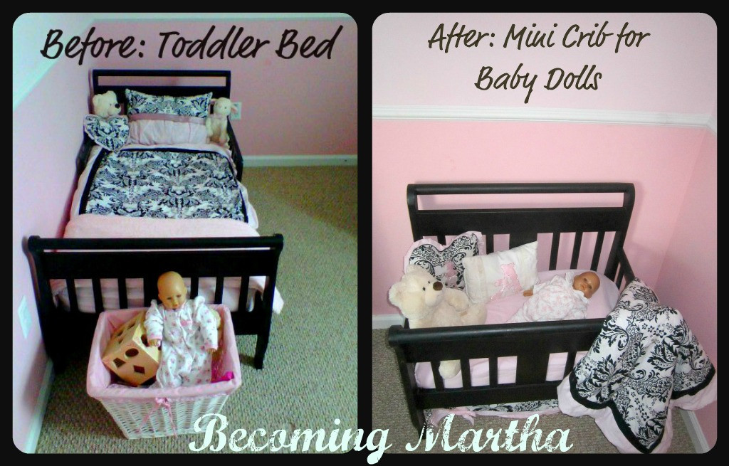 Best ideas about DIY Baby Doll Crib . Save or Pin Be ing Martha DIY Baby Doll Crib Now.