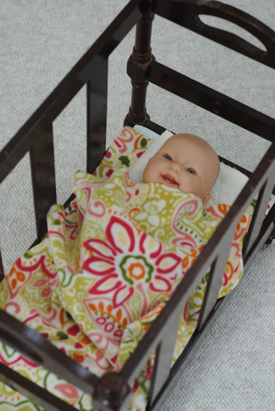 Best ideas about DIY Baby Doll Crib . Save or Pin How to Make a DIY Doll Crib from a magazine rack Now.