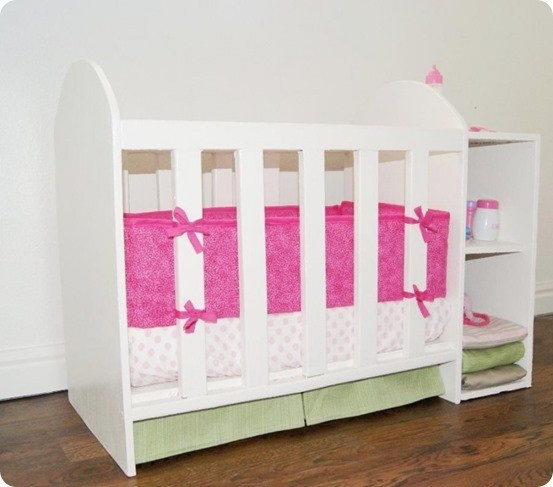 Best ideas about DIY Baby Doll Crib . Save or Pin Doll Crib with Changing Table Now.