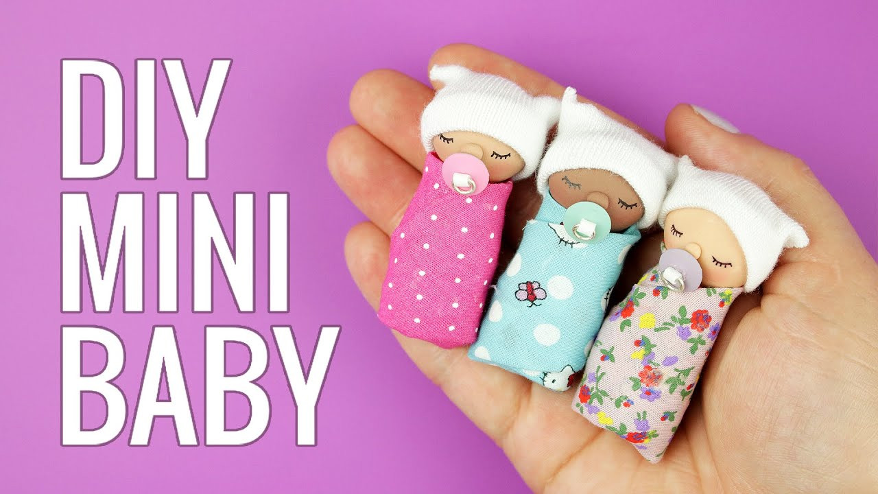 Best ideas about DIY Baby Doll . Save or Pin DIY miniature Baby Now.
