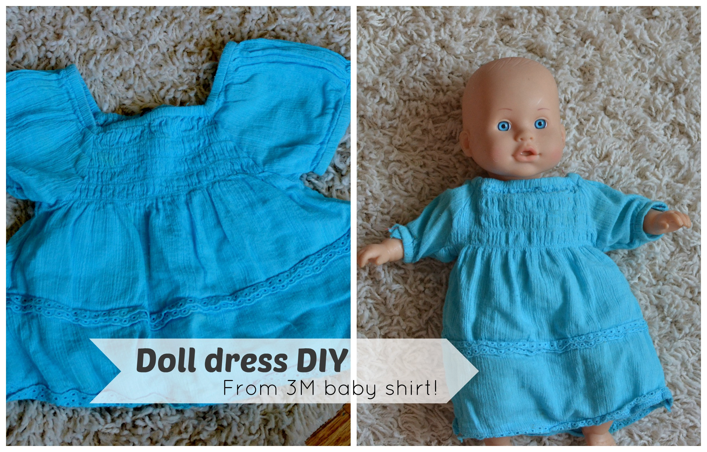Best ideas about DIY Baby Doll . Save or Pin Super Easy DIY Baby Doll Dress Now.