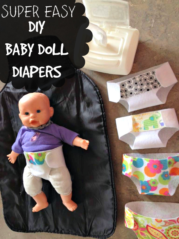 Best ideas about DIY Baby Doll . Save or Pin DIY Baby Doll Diapers Now.
