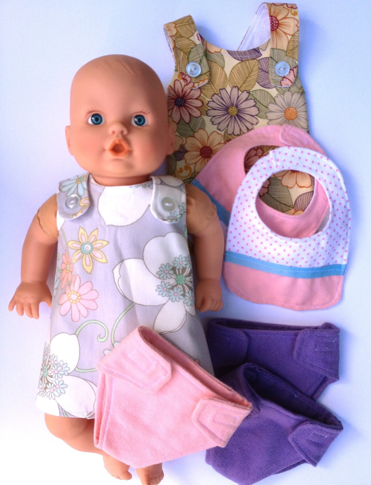Best ideas about DIY Baby Doll . Save or Pin Handmade by Meg K Semi Homemade Birthday Doll Set Now.
