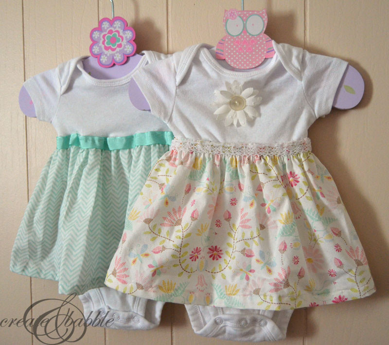Best ideas about DIY Baby Dress . Save or Pin DIY esie Dresses Create and Babble Now.