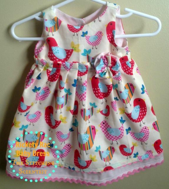 Best ideas about DIY Baby Dress . Save or Pin Caroline Hulse Blog Rickety Rac Baby Dress DIY Now.