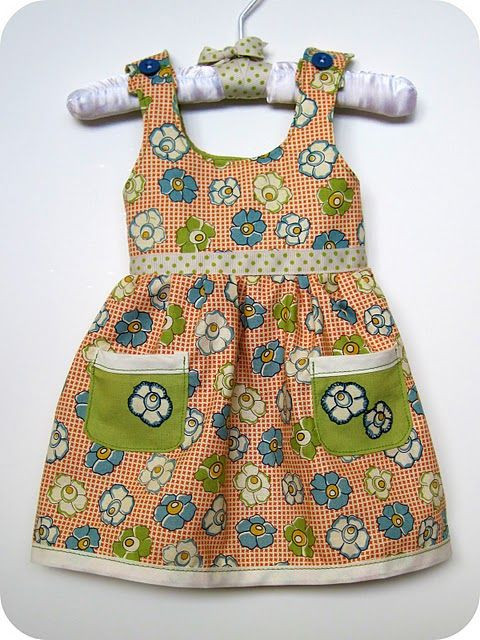 Best ideas about DIY Baby Dress . Save or Pin homemade by jill Prairie Dress an Itty Bitty variation Now.