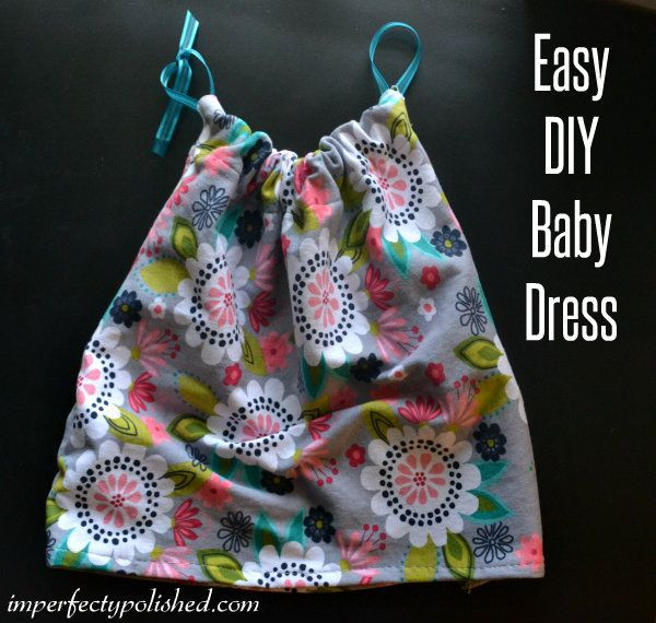 Best ideas about DIY Baby Dress . Save or Pin Easy DIY Baby Dress Baby Hyde Now.