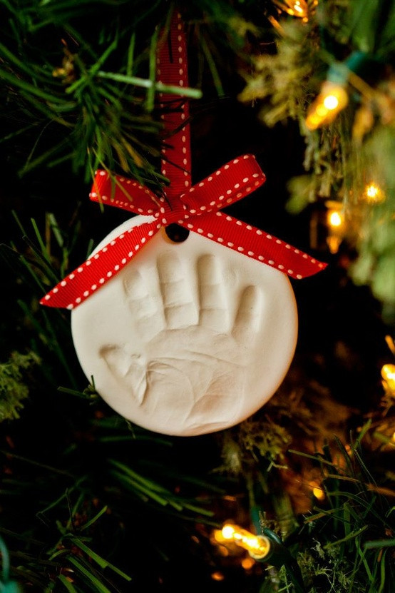 Best ideas about DIY Baby First Christmas Ornament . Save or Pin Running from the Law Celebrating Baby s First Christmas Now.