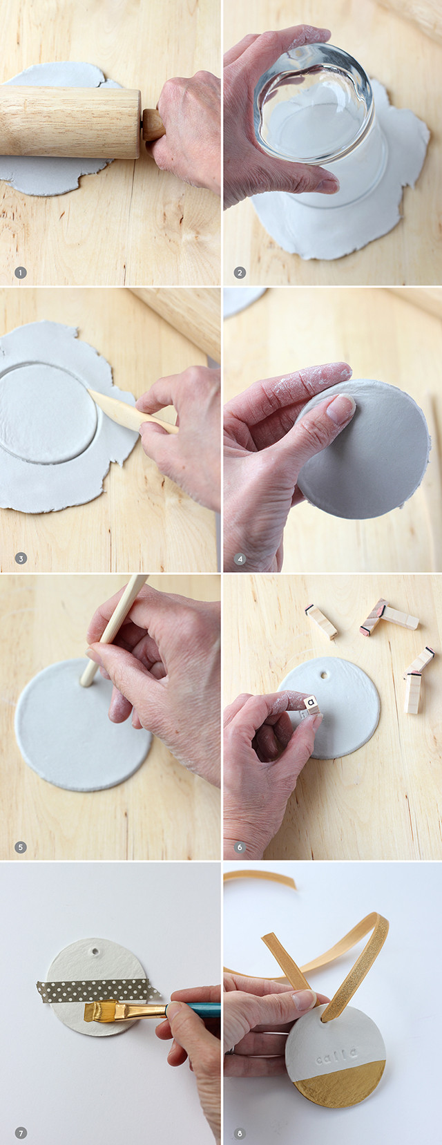 Best ideas about DIY Baby First Christmas Ornament . Save or Pin Baby s First Christmas Ornament DIY Project Nursery Now.