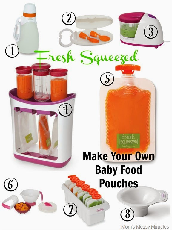 Best ideas about DIY Baby Food Pouch . Save or Pin Making Our Own Baby Food Pouches with Infantino The Now.