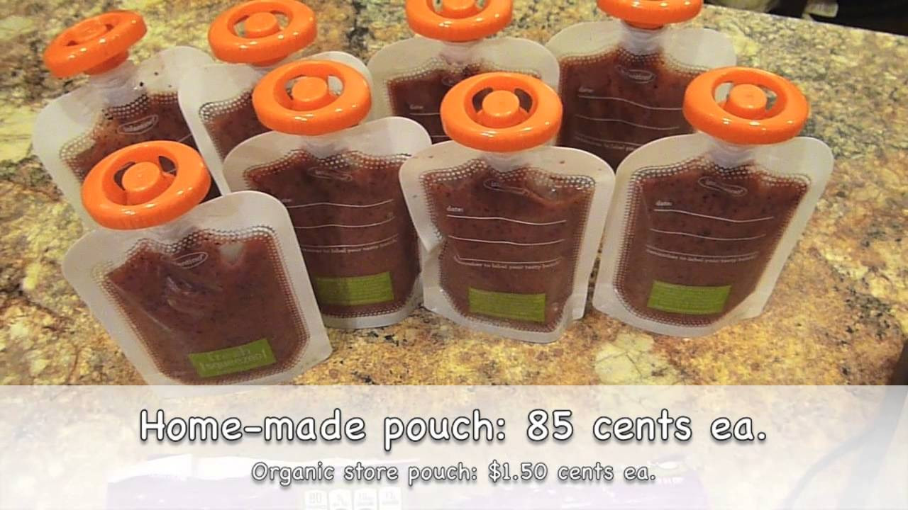 Best ideas about DIY Baby Food Pouch . Save or Pin Baby Food Organization and DIY Baby Food Pouches Now.