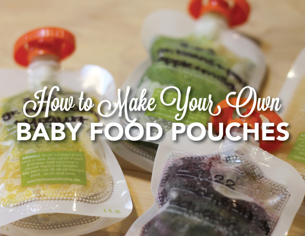 Best ideas about DIY Baby Food Pouch . Save or Pin DIY Baby Pouches Now.