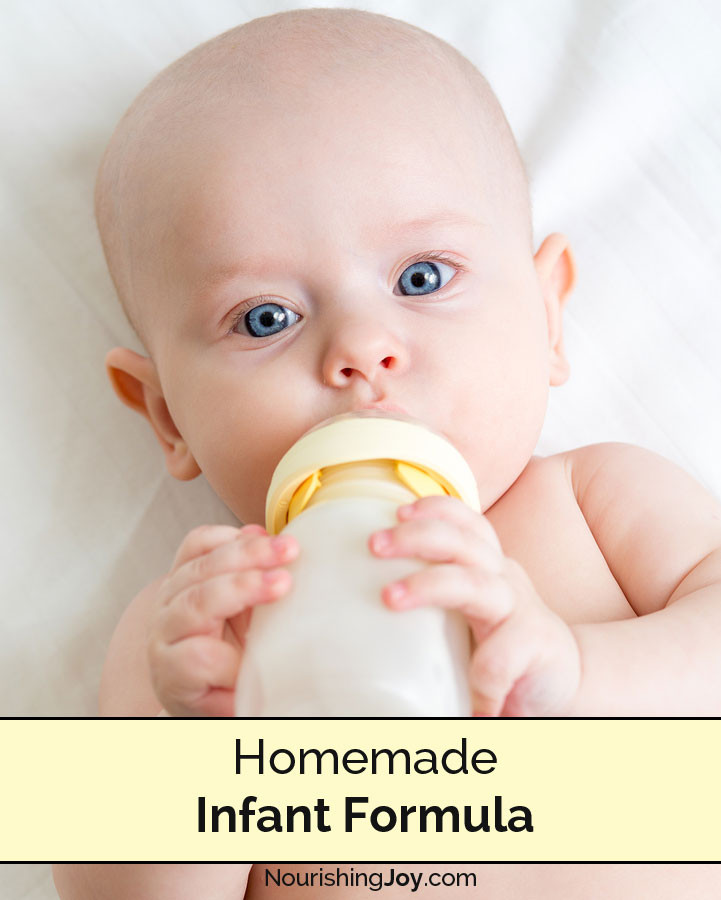 Best ideas about DIY Baby Formula . Save or Pin Homemade Infant Formula Nourishing Joy Now.