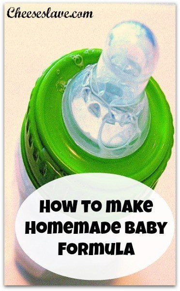 Best ideas about DIY Baby Formula . Save or Pin Homemade Baby Formula Recipe How to Make It Cheeseslave Now.