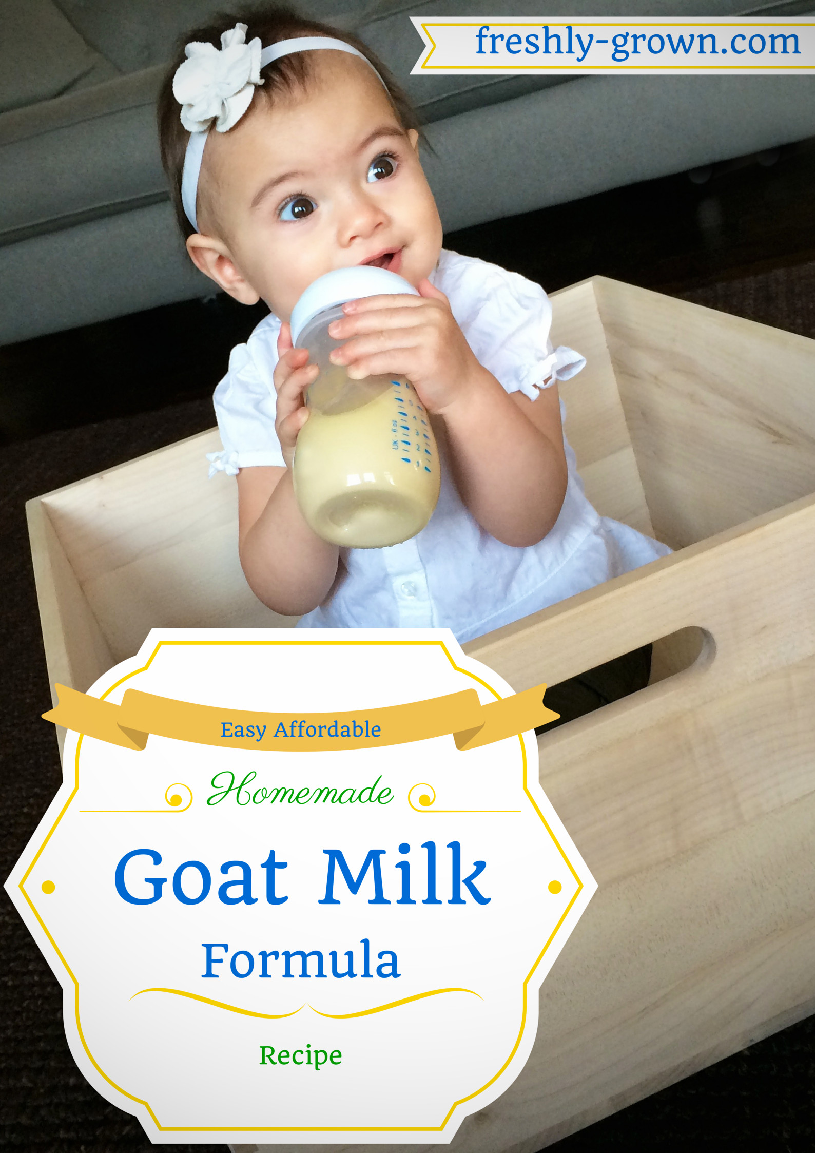 Best ideas about DIY Baby Formula . Save or Pin My Baby Thrived on this Affordable Homemade Goat Milk Now.