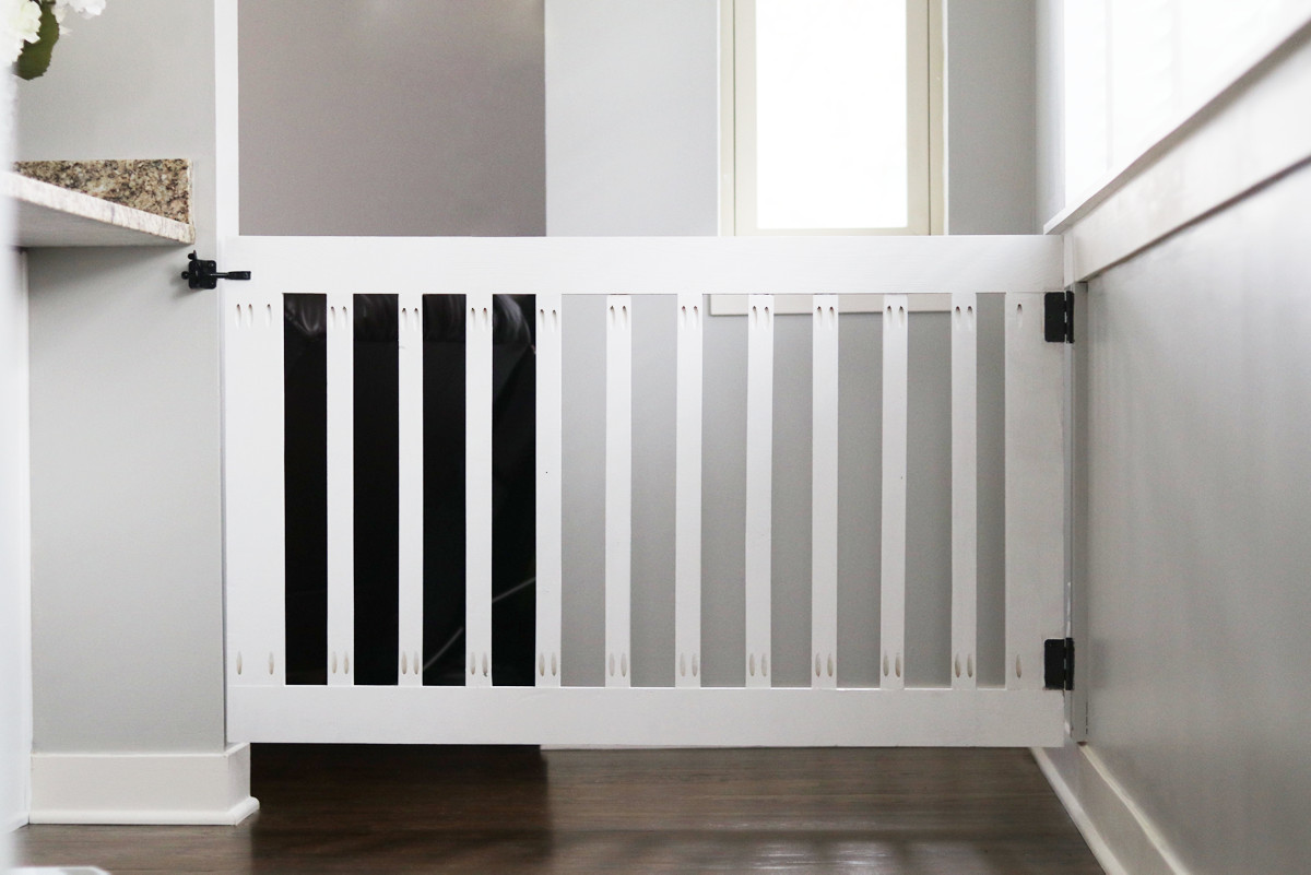 Best ideas about DIY Baby Gates . Save or Pin DIY Baby Gate – The Love Notes Blog Now.