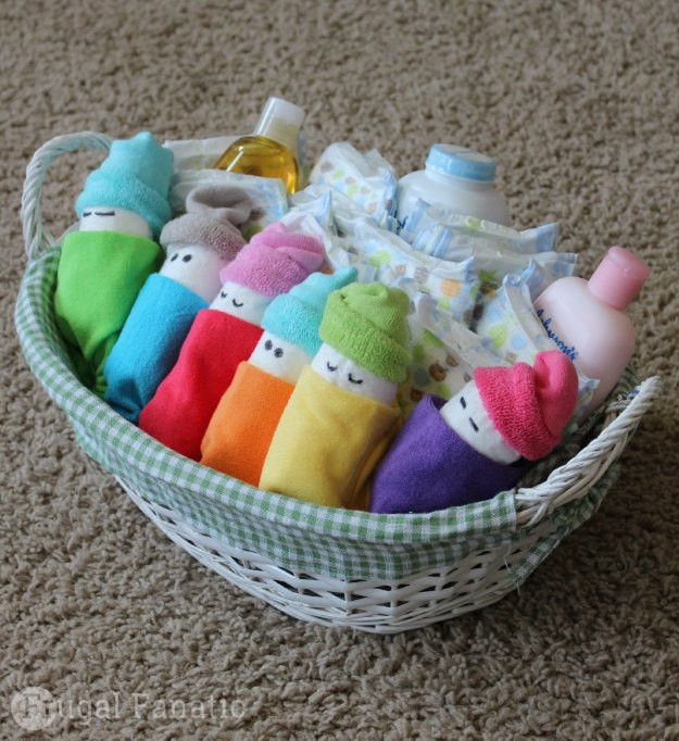 Best ideas about DIY Baby Gift Baskets . Save or Pin 42 Fabulous DIY Baby Shower Gifts Now.