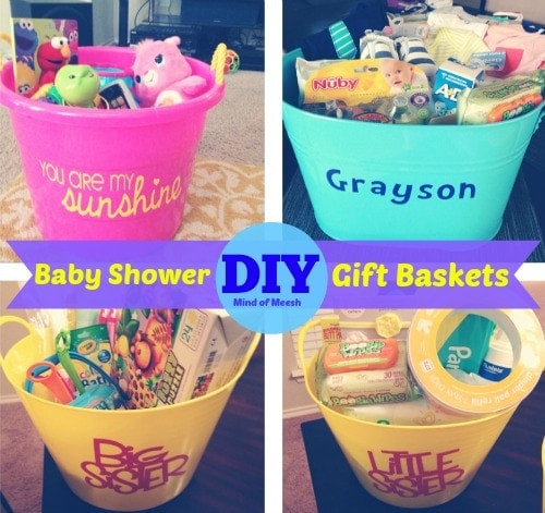 Best ideas about DIY Baby Gift Baskets . Save or Pin DIY Baby Shower Gift Baskets Now.