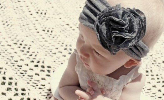 Best ideas about DIY Baby Girl Headband . Save or Pin DIY Jersey Headband For Your Baby Girl Now.