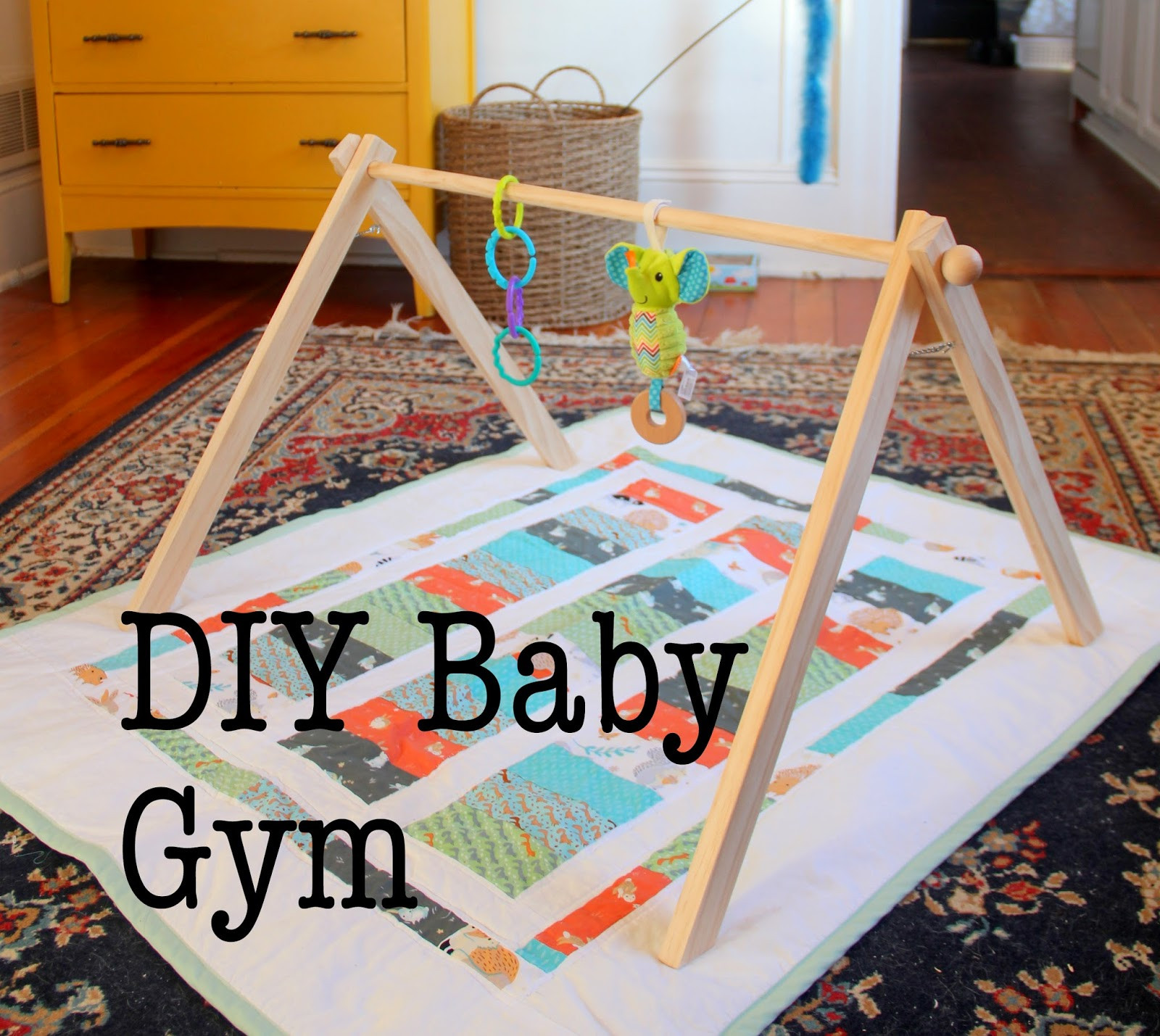 Best ideas about DIY Baby Gym . Save or Pin EAK A House DIY Baby Gym Now.